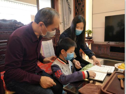 """茂名滨海新区教育系统精准""""四个'一对一'"""",关爱防疫一线医护人员子女"""