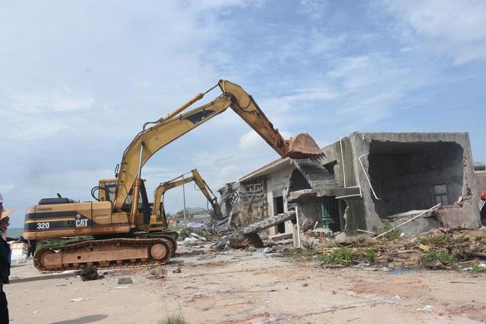 滨海新区开展重点项目用地清表专项行动
