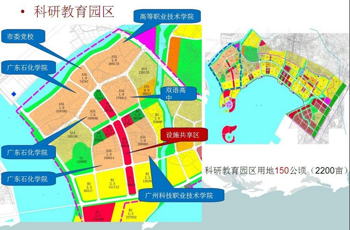 园区规划_广东茂名滨海新区