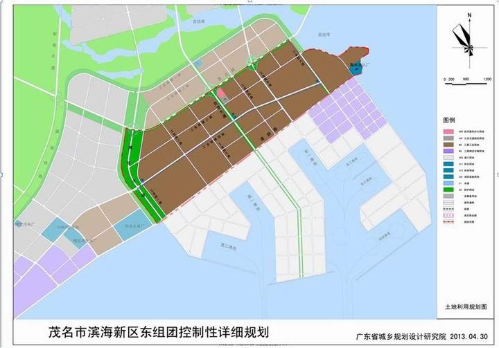 吉达港区规划_广东茂名滨海新区