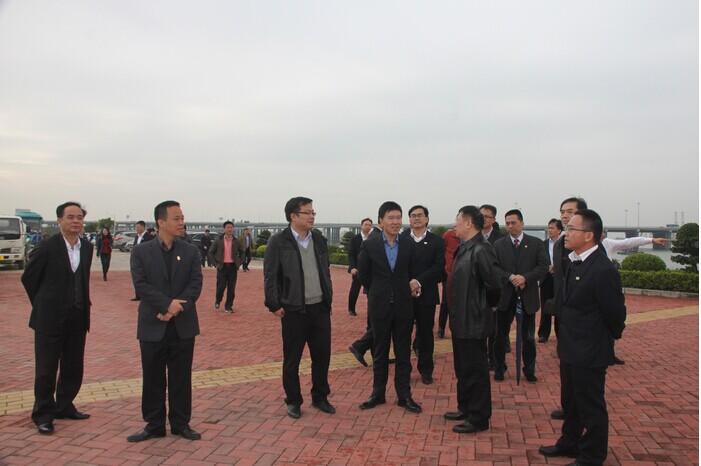 杨润贵率滨海新区代表团到深圳前海惠州大亚湾考察学习